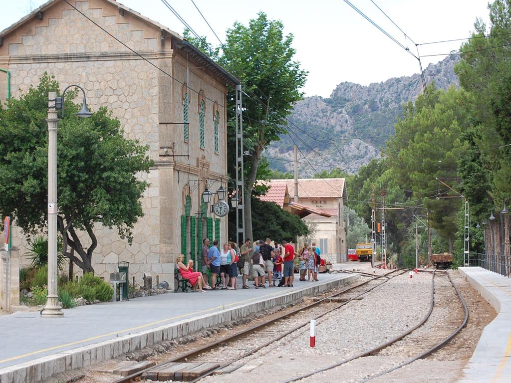 Spoorlijn naar Soller