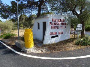 Playa el Mango - Playa Portals Vells